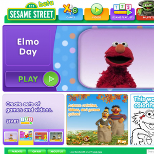 Website Design Company - Sesame Street