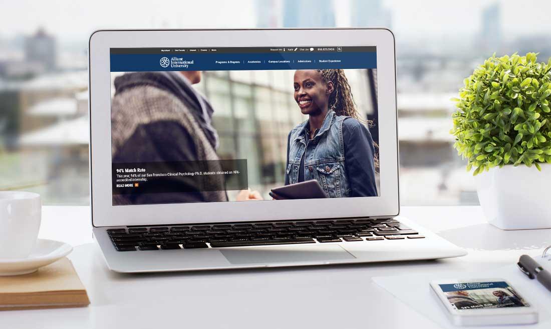 Website Design Company - Alliant University