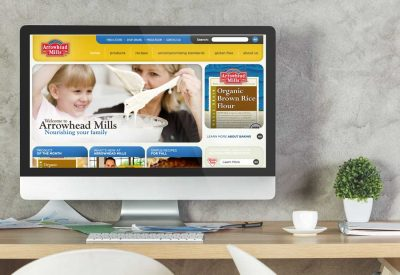 Website Design Company - Arrowhead Mills