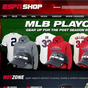 Website Design Company - ESPN Shop