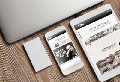 Website Design Company - IGN