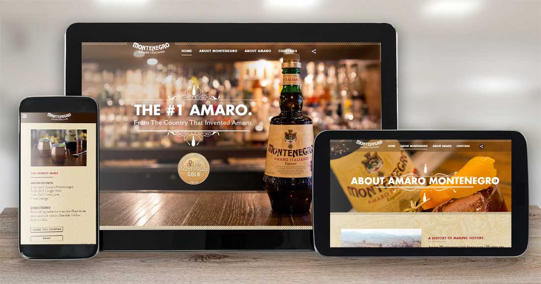 Website Design Company - Amaro Montenegro