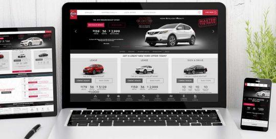 Website Design Company - choose nissan