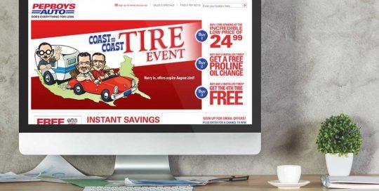 Website Design Company - Pepboys