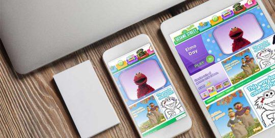 Website Design Company - Sesame Street
