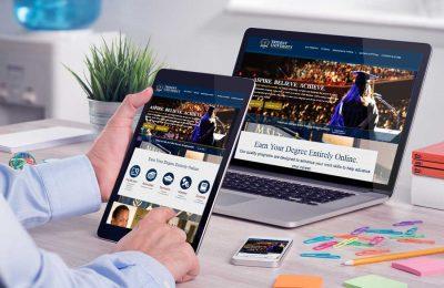 Website Design Company - Trident University