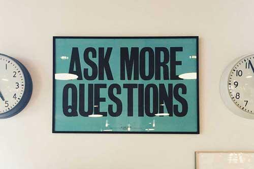 Website Design Company - Ask More Questions