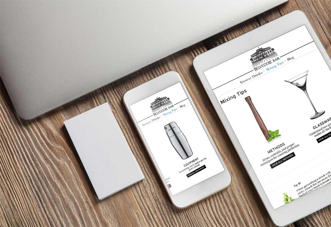 Website Design Company - Belvedere Vodka