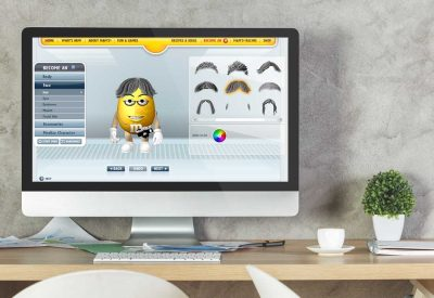 Website Design Company - M&Ms
