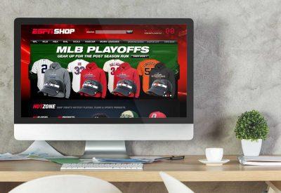 Website Design Company - ESPN Shop