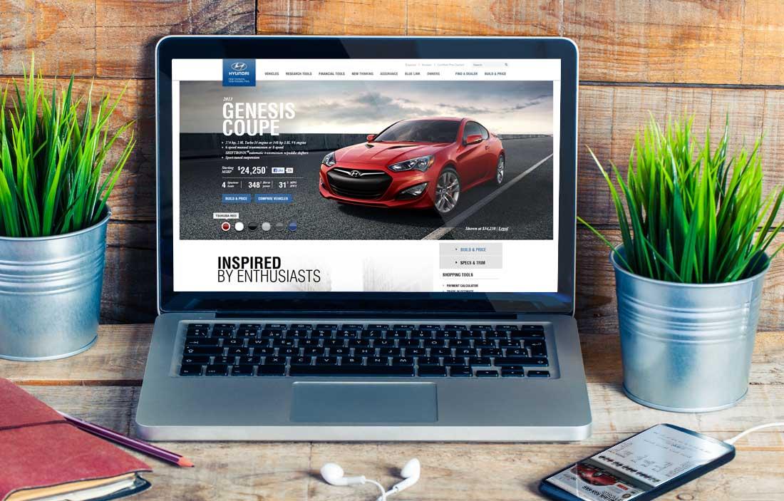 Website Design Company - Hyundai