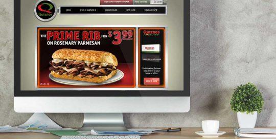 Website Design Company - Quiznos
