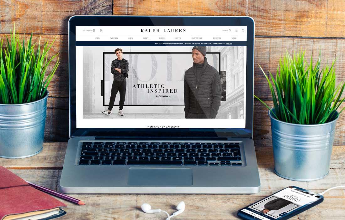 Website Design Company - Ralph Lauren